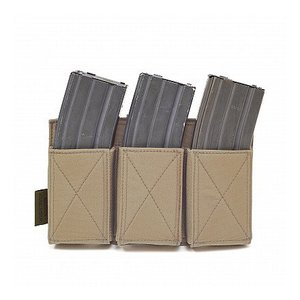 Warrior Assault Systems Triple Elastic Mag Pouch Coyote Tan
