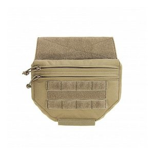 Warrior Assault Systems Drop Down Velcro Utility Pouch Coyote Tan