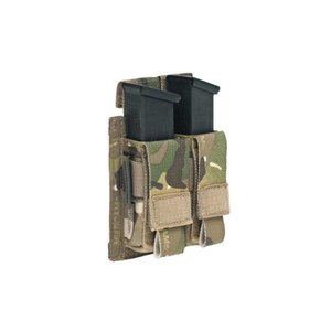 Warrior Assault Systems Direct Action Double 9mm Pistol Mag Pouch Multicam