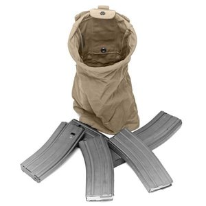 Warrior Assault Systems Slimline Folding Dump Pouch Coyote Tan
