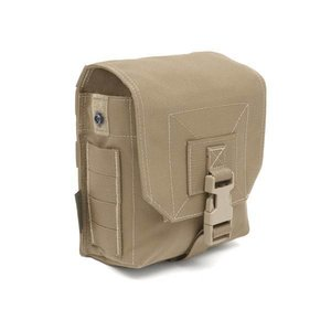 Warrior Assault Systems 100 Rd 7.62 Box / 200 5.56 SAW / M249 Drum Coyote Tan