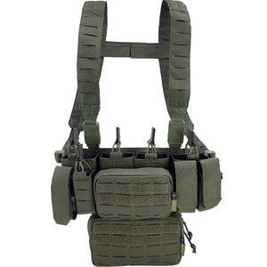 Pitchfork Systems MCR Modular Chest Rig Complete Set Ranger Green