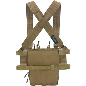 Pitchfork Systems MCR Modular Chest Rig Complete Set Coyote