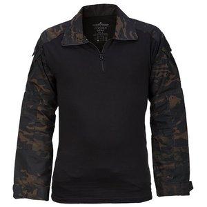 Combat Shirt ATP Black Multicam