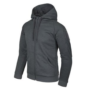 Helikon-Tex URBAN TACTICAL HOODIE (FullZip)  Melange Black-Grey