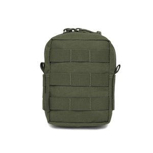 Warrior Assault Systems SMALL MOLLE UTILITY POUCH – OD GREEN