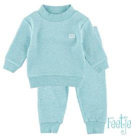 Feetje Feetje Baby Pyjama mintgroen melee