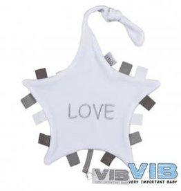 VERY IMPORTANT BABY Tutteldoekje 'Love' White