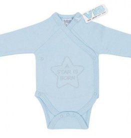 VERY IMPORTANT BABY Romper A Star Is Born Blue Overslag