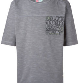 NOP T-shirt 'Lyndon' donkergrijs