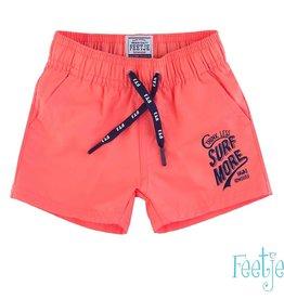 Feetje Zwemshort baby neon oranje