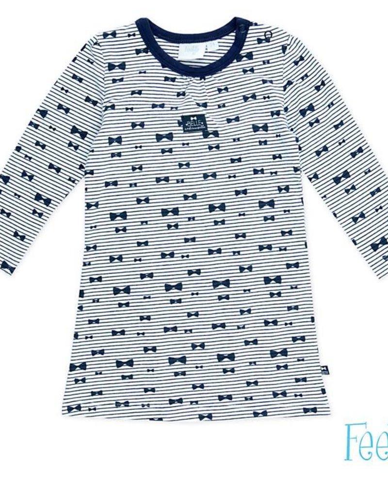 99f80db82a0c51 Feetje Feetje nachtjapon pyjama marine