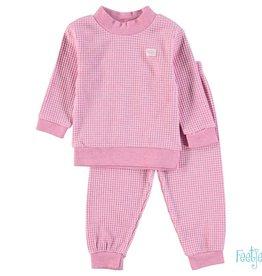 Feetje Feetje Kinder pyjama roze melange