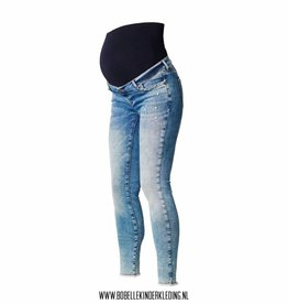 Noppies Maternity Positiejeans skinny  blue denim