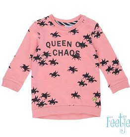 Feetje Sweater Queen 'Vulcan Field' Roze