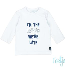 Feetje Shirt The Reason 'Hi There' wit
