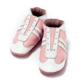 Baby Dutch Lederen slofjes jogger roze