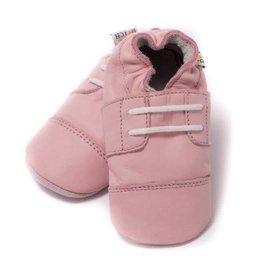 Baby Dutch Baby Dutch Lederen slofjes roze open
