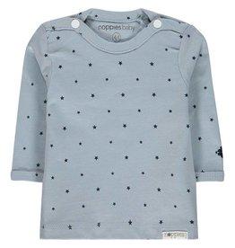 Noppies Shirt 'Novara' longsleeve grey blue