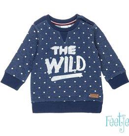 Feetje Feetje' Sweater The Wild Outsiders' Indigo
