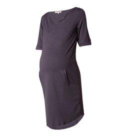 Noppies Maternity Positie jurk 'Angelique' donkergrijs