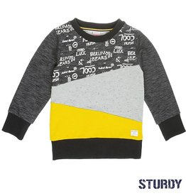 Sturdy Sweater 'Brotherhood' Antraciet