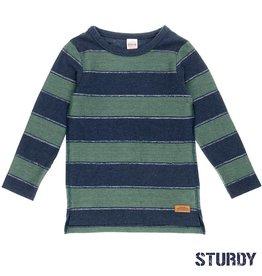 Sturdy Sweater streep 'Outsiders' Indigo