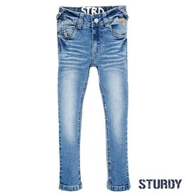 Sturdy Slim fit jeans bleached denim stretched