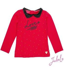 Jubel Jubel Shirt Love 'Vulcan Field' Rood