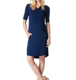 Noppies Maternity Positie jurk 'Angelique' navy