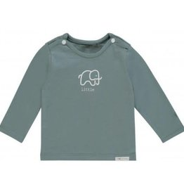 noppies baby Shirt 'Amanda' grey mint
