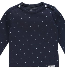 noppies baby Shirt 'Collin' navy stars