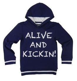 Legends22 Sweatshirt 'Hoody Milan' donkerblauw