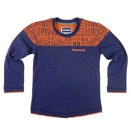 Legends22 Legends 22  Norway shirt longsleeve blauw