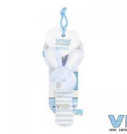 VERY IMPORTANT BABY VIB pluchen squeker blauw
