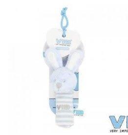 VERY IMPORTANT BABY VIB pluchen squeker blauw