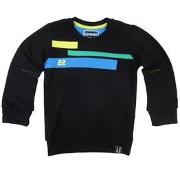 Legends22 Shirt 'Finn' black longsleeve