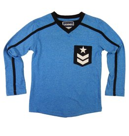 Legends22 Legends 22  Shirt 'Koen' blauw