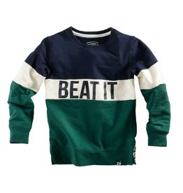 Z8 Sweater 'Bertus' blauw groen