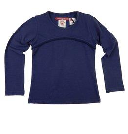 Love Station 22 Shirt 'Becky' donkerblauw.