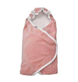 Lodger Wrapper newborn blush roze