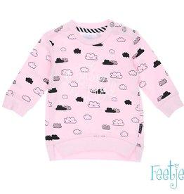 Feetje Sweater 'the cutest' roze