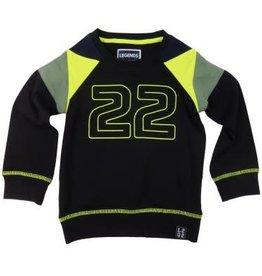 Legends22 Legends 22  Sweater 'Micha' Zwart