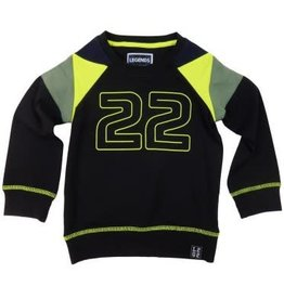 Legends22 Sweater 'Micha' Zwart