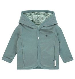 Noppies Reversable vest Haye grey mint