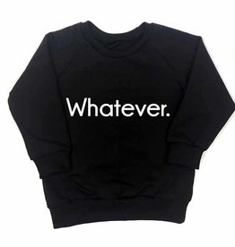 KMDB KMDB Sweater 'Whatever' zwart