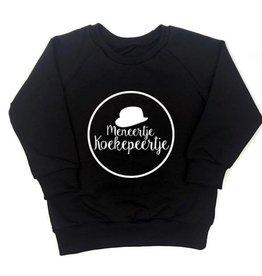 KMDB KMDB Shirt Meneertje Koekepeertje zwart