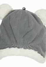 Lodger Lodger  Baby muts fleece grijs donkey