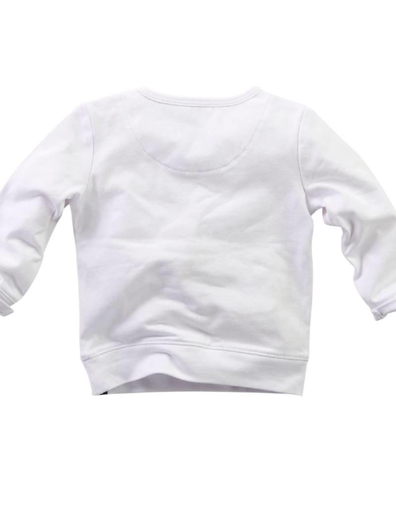 Z8 Z8 newborn Shirtje 'Cosmos' wit