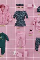 Z8 Z8 Newborn Borgvest 'Polaris' roze